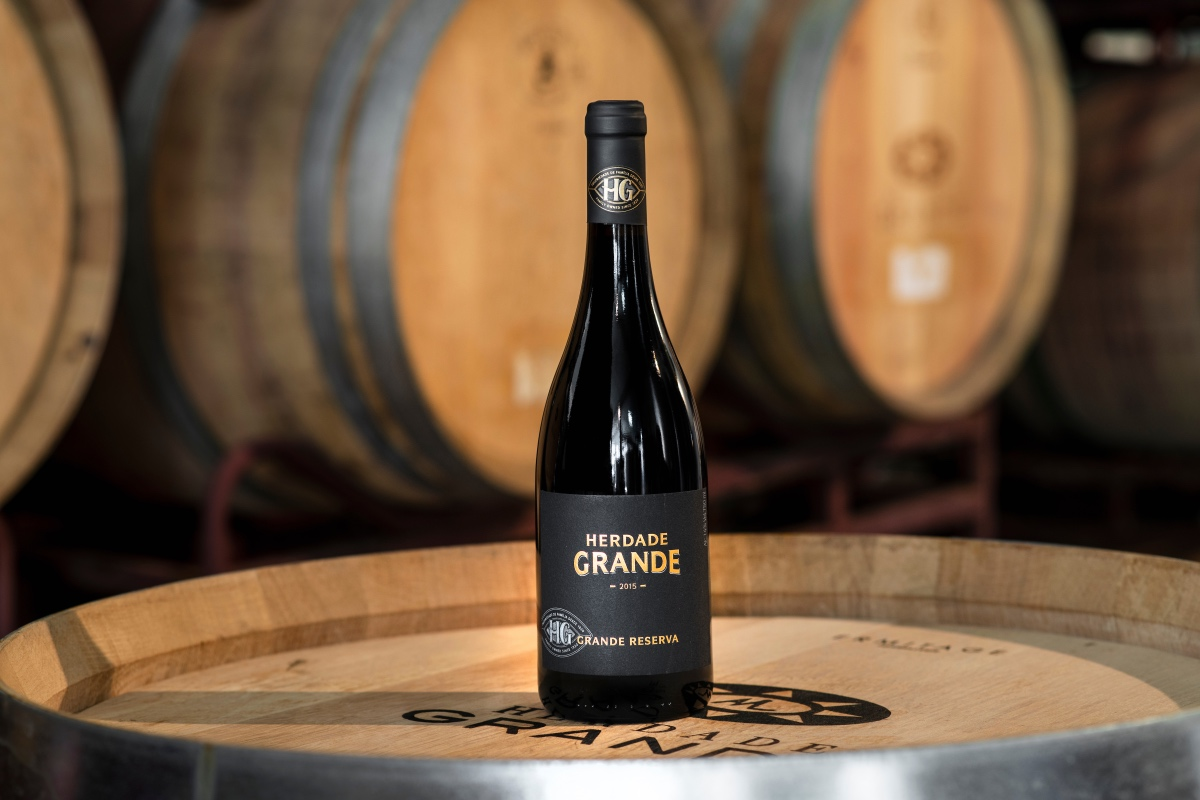 92 Parker points. The Grande Reserva of Herdade Grande highlighted by the Wine Advocate